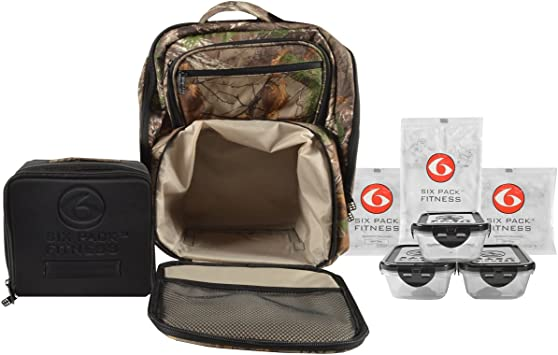 6 Pack Fitness Expedition 300 Meal gestión mochila – Realtree Camo: Amazon.es: Deportes y aire libre