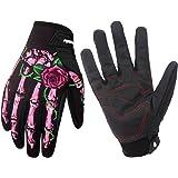 Winter Windproof Waterproof Touch Screen Glove Skull Zombie Bone Design Cycling Climbing Motorcycles Cycling Gardening Gloves Men & Women