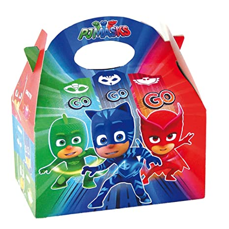 PJ Masks Empty Favor Box