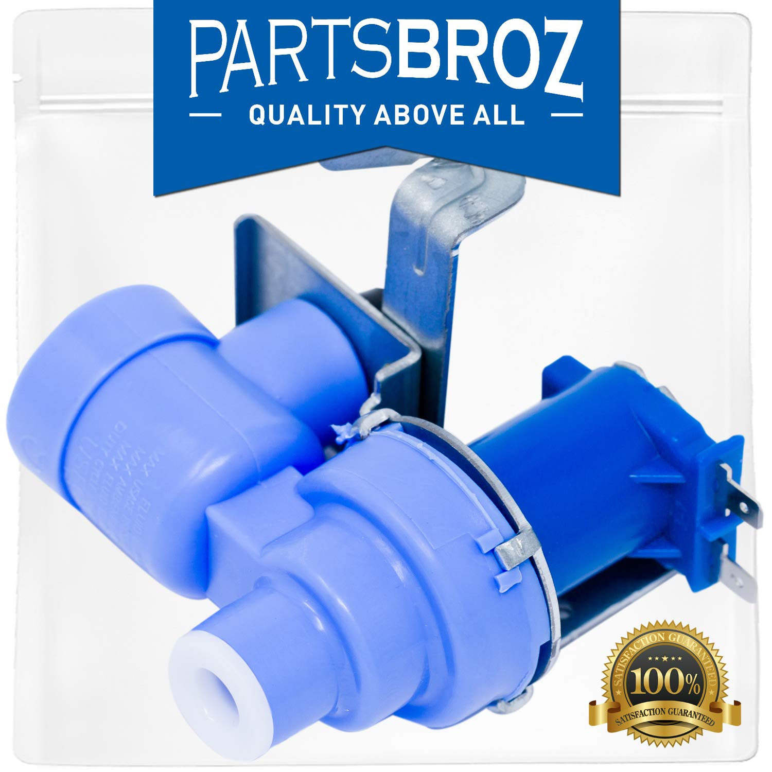 MJX41178908 Water Inlet Valve for LG Refrigerators by PartsBroz - Replaces Part Numbers AP4451762, 1398828, AH3536019, EA3536019 & PS3536019