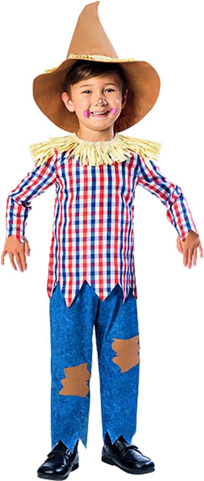 Amscan International Disfraz de espantapájaros para niños Edad de ...