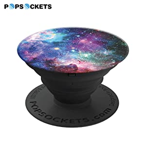 PopSockets: Collapsible Grip & Stand for Phones and Tablets - Blue Nebula