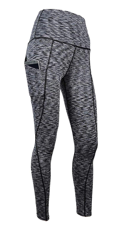 XPRIN A500 Series Womens Long Bottom Pants Base Layer Compression Sports Wear Rash Guard UV 97.5/%