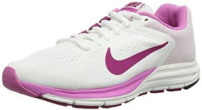 super popular 55084 cf69a Nike Womens Zoom Structure +17 Running Shoes White Weiß (Summit  White Bright Magenta
