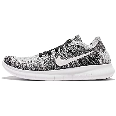 best loved 48638 350d4 Nike Kid s Free RN Flyknit 2017 GS, BLACK WHITE-VOLT, 4.5 UK  Amazon.co.uk   Shoes   Bags