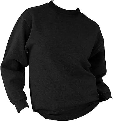 Eat Sleep Crossfit Mens Crew Neck Sweatshirt Long Sleeve Sweater Black