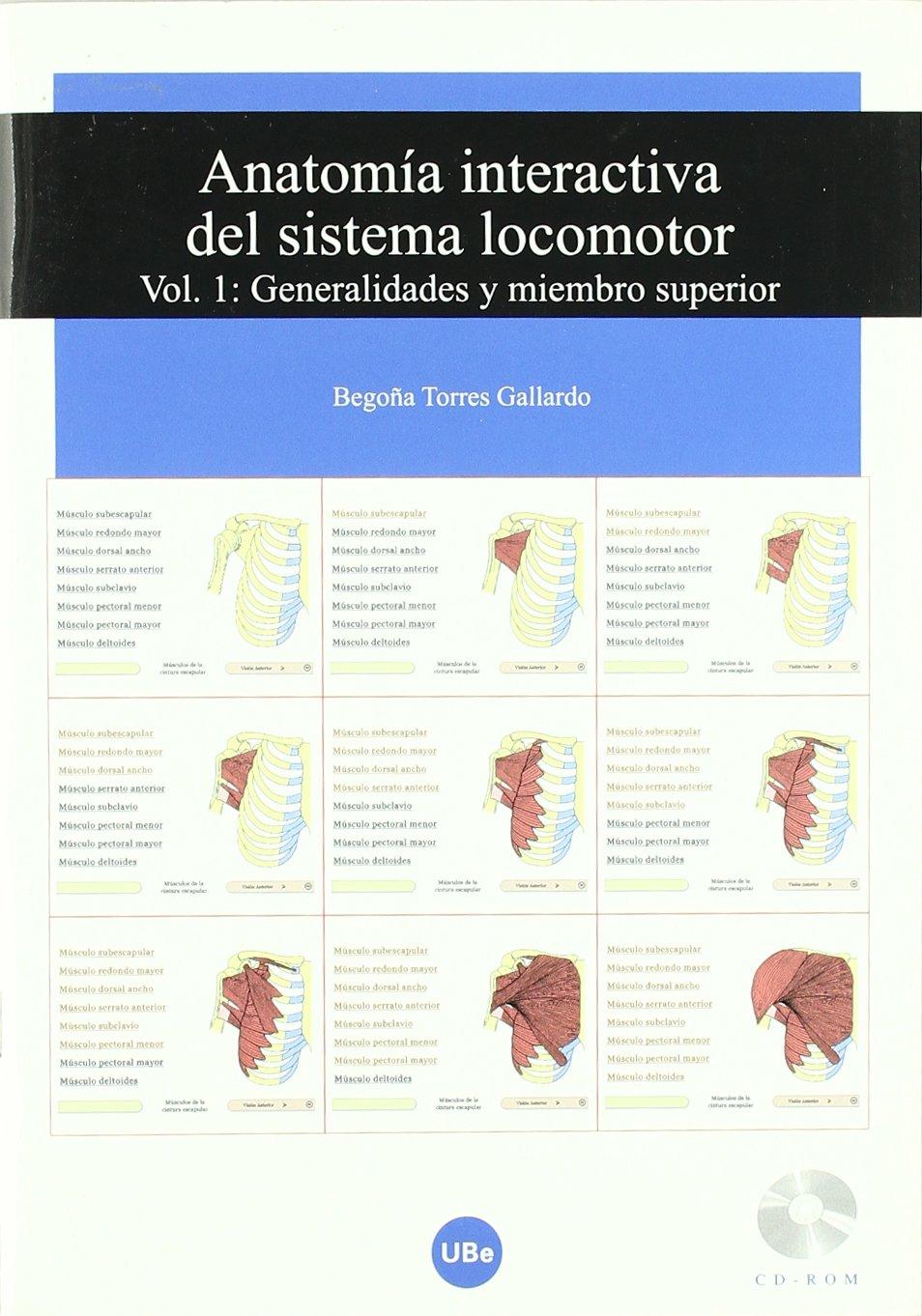 Anatomía interactiva del sistema locomotor. Volumen I: Generalidades ...