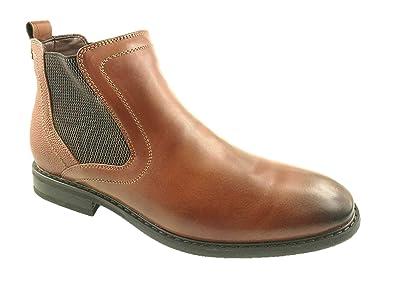 9733adba203 Mens Chelsea Dealer Formal Casual Work Ankle Cowboy Biker Boots Shoes Size  UK 6-12