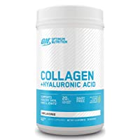 Collagen Peptides Powder By Optimum Nutrition, Vitamin C & D for Immune Support,...