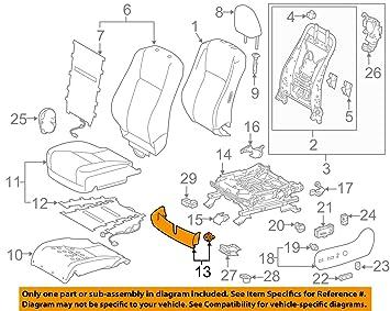 TOYOTA Genuine 71812-06200-B0 Seat Cushion Shield