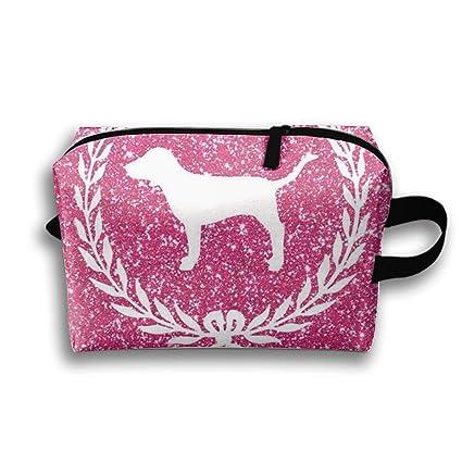 Bolsas de maquillaje para perros Pink Bolsa de aseo de viaje ...