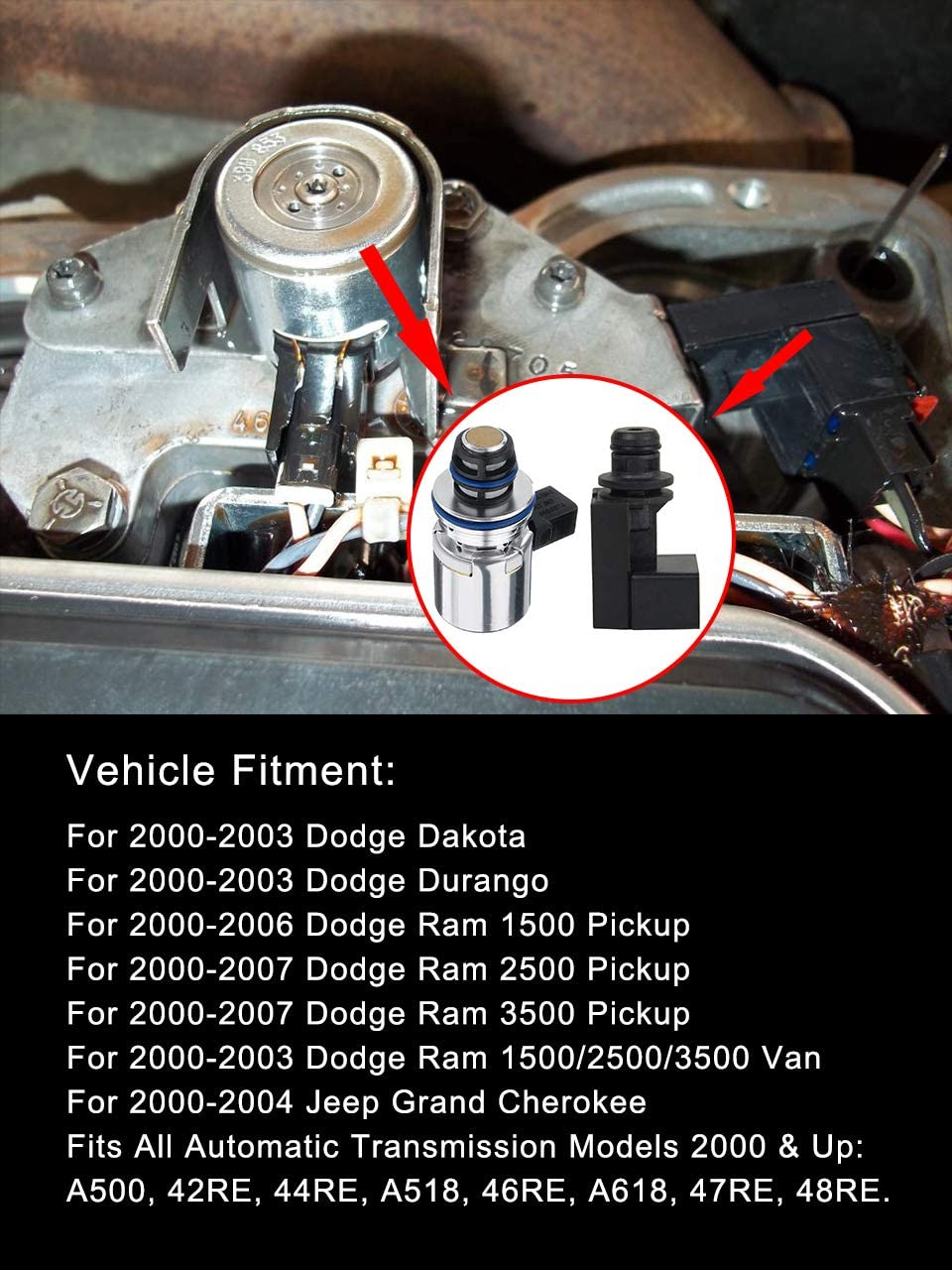 Up Dodge Jeep 42RE 44RE A500 Transmission Valve Body W// All Electrical 2000