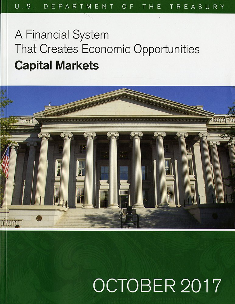 A Financial System That Creates Economic Opportunities: Capital Markets