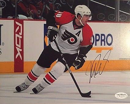 quality design 22aa0 d3035 Mike Richards Autographed Signed Philadelphia Flyers 8x10 ...