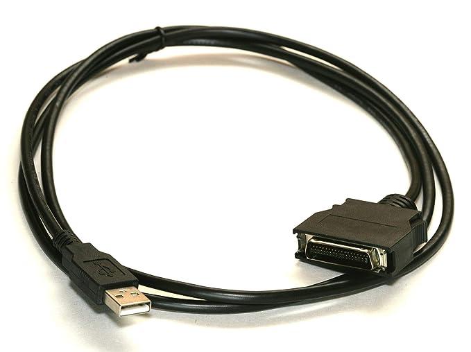 Amazon.com: pccables. com Cable de impresora USB IEEE-1284 5 ...