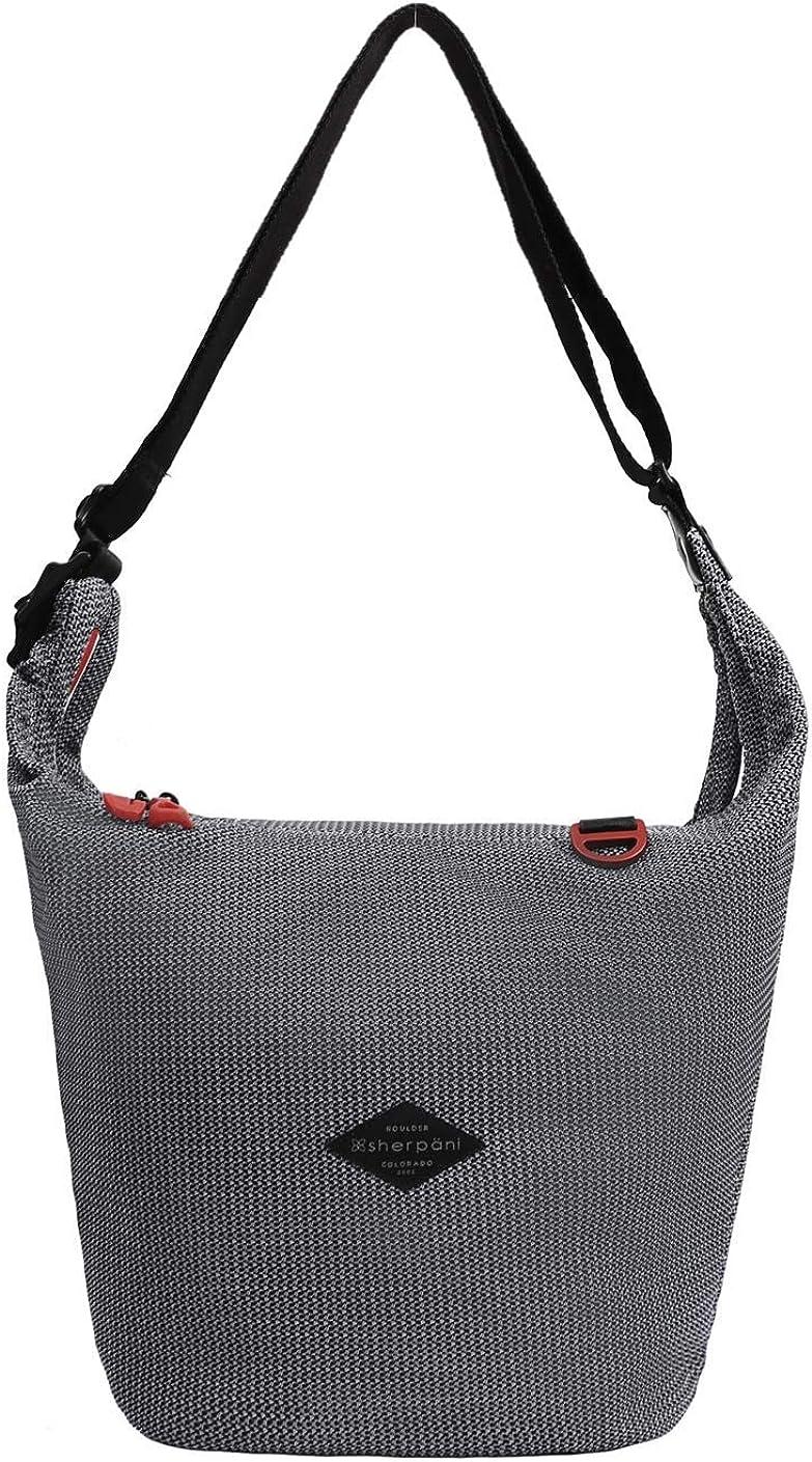 Sherpani Payton, Medium Crossbody Bag, Shoulder Bag, Crossbody Purse, Hobo Bag, Nylon Mesh Bag for Women Fits 10 Inch Tablet