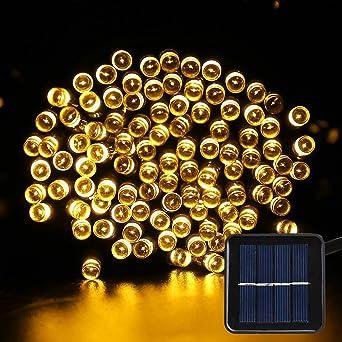 Solar Fairy String lights - NOSIVA Solar Garden Lights 200 LED 8 Modes 22 Meters Outdoor  sc 1 st  Amazon UK & Solar Fairy String lights - NOSIVA Solar Garden Lights 200 LED 8 ... azcodes.com