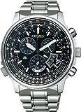 [シチズン]CITIZEN 腕時計 PROMASTER プロマスター Eco-Drive エコ・ドライブ 電波時計 ダイレクトフライト ディスク式 BY0080-57E メンズ