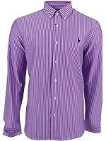 Polo Ralph Lauren Men's Striped Knit Dress Shirt