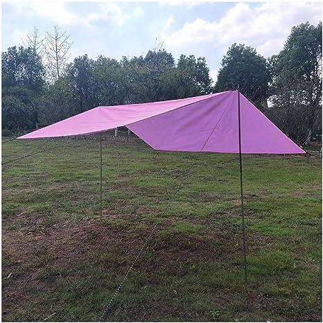 YOUCAI Toldo Tienda de Campaña Impermeable Carpas Camping Multifuncional Parasol para Tienda Plegable Sombrilla Toldo de Sol Estera para Playa Acampar ...