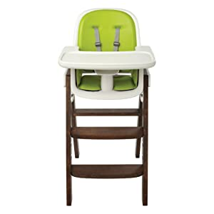 OXO Tot Sprout High Chair, Green/Walnut