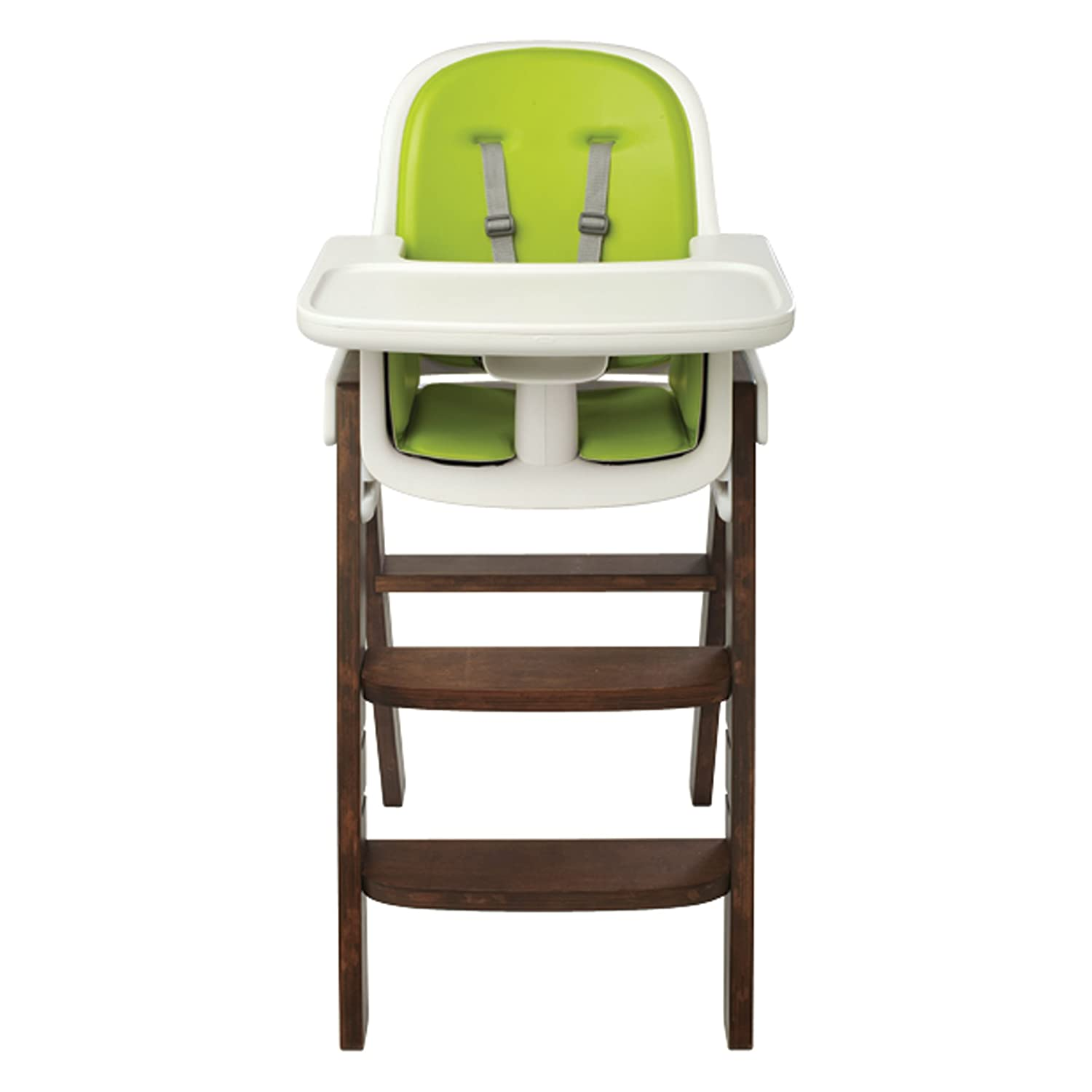 Amazon OXO Tot Sprout High Chair Green Walnut Childrens