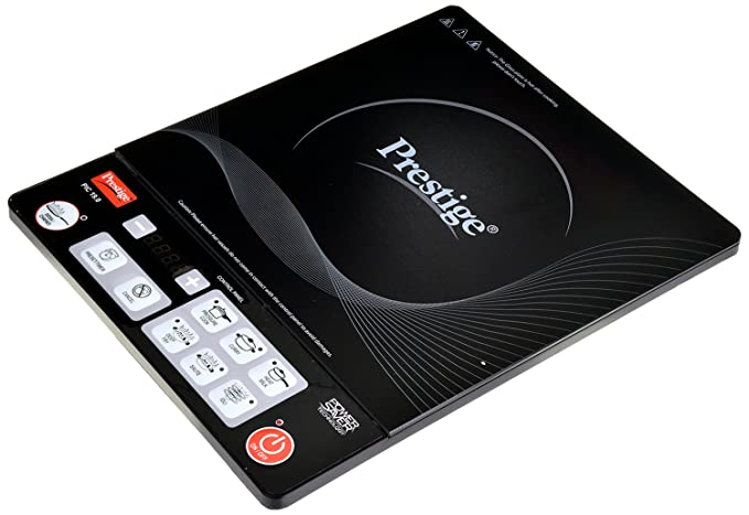 Prestige PIC 19.0 1600-Watt Induction Cooktop (Black) Induction Cooktops at amazon