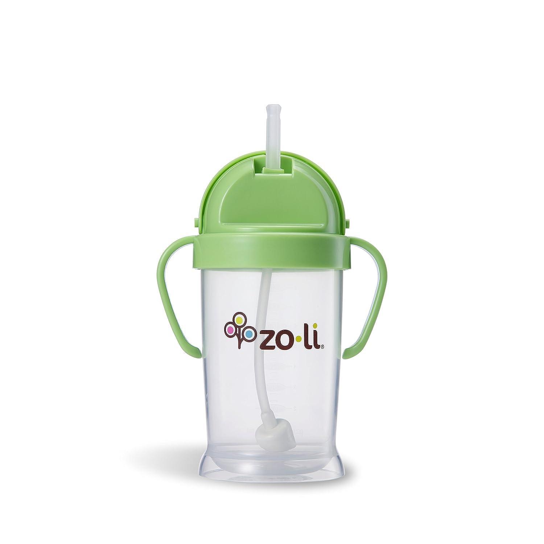 Zoli Bot XL 270ml Sippy Cup Gobelet Avec Paille - Vert (Coloris alé atoire) Timi & Leslie A-BF12PPG091