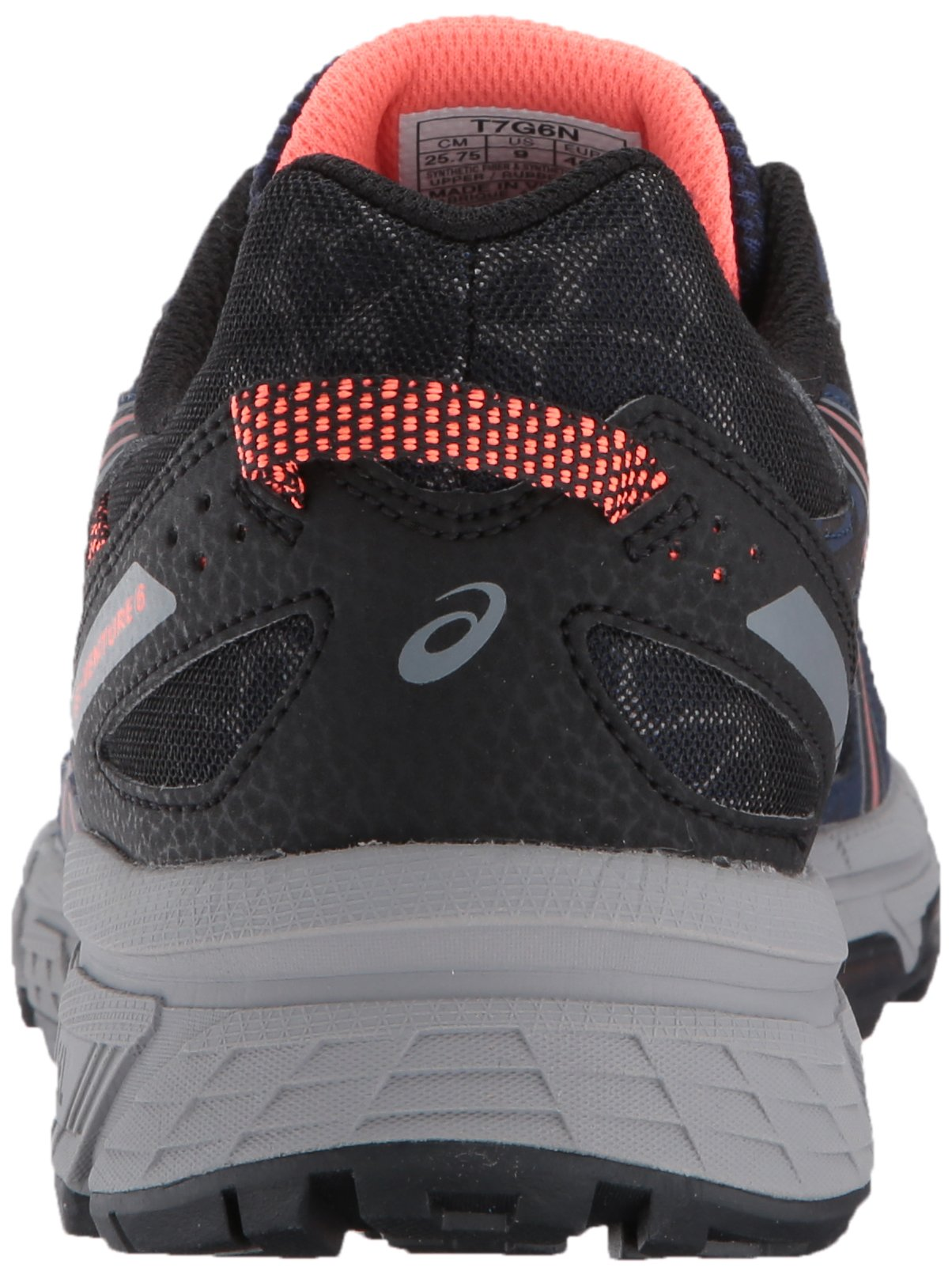 ASICS Women's Gel-Venture 6 Running-Shoes,Indigo Blue/Black/Coral,5 Medium US by ASICS (Image #2)
