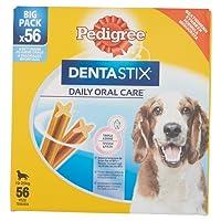Dentastix Premios para Perros Medianos de Higiene Oral Uso Diario, pack de 1 x 56 palos