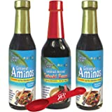 Coconut Secret Coconut Aminos Bundle - Includes (2) COCONUT AMINOS SOY-FREE SAUCE, 8 fl Oz and (1) COCONUT AMINOS…