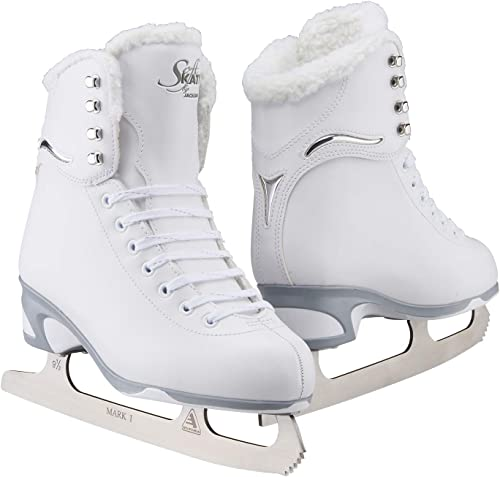 Jackson Ultima Women s Misses Tot s Finesse 180 High Top Lace Up Medium Support SoftSkate Figure Ice Skates