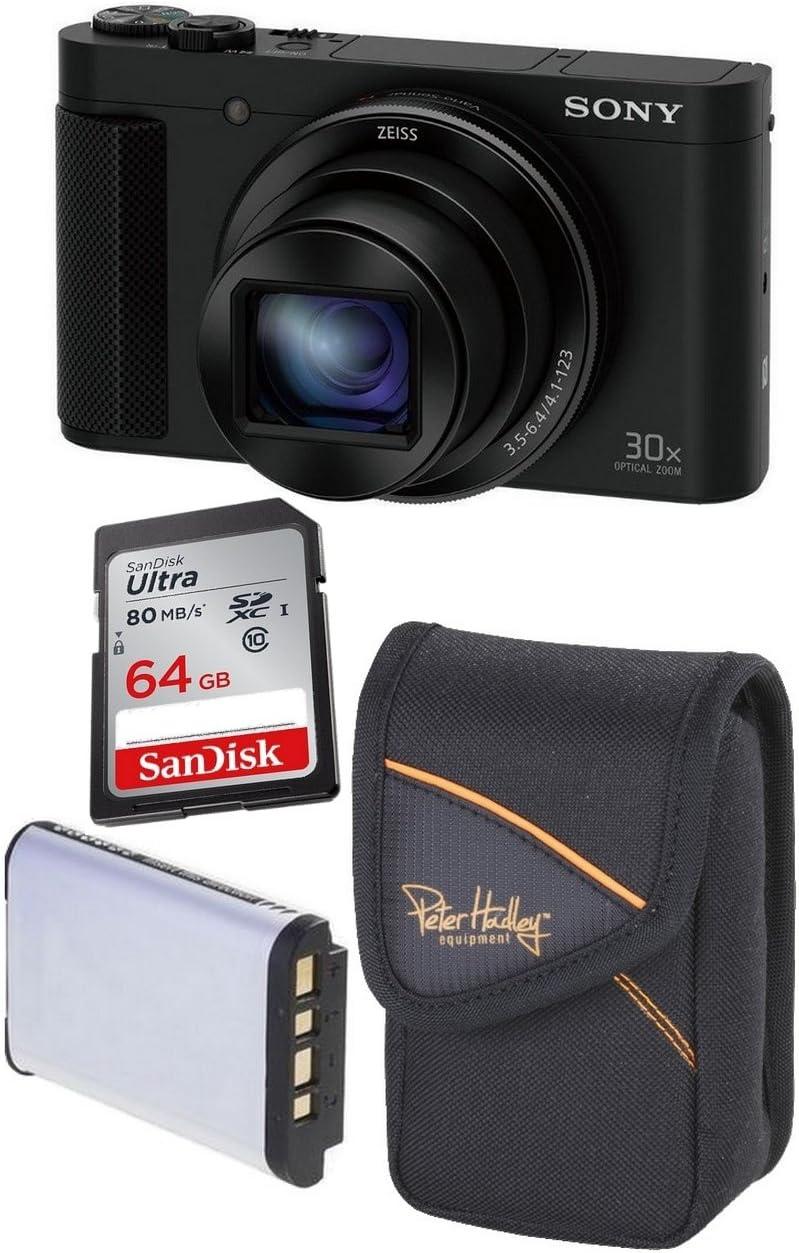 Sony Dsc Hx90v Sandisk 64 Gb Ultra Sdxc 2 Akku Kamera