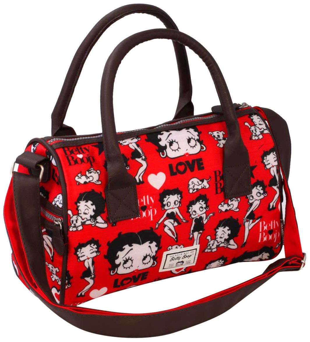 Betty Boop Rouge Messenger Bag, 31 cm, Red (Rojo) 36499