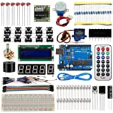 UNO R3 Starter Learning Kit for Arduino Beginner 1602 LCD Servo Motor Breadboard