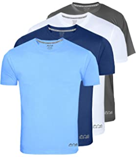 9fbd199f7f9 AWG - All Weather Gear Men s Polyester Dry Fit Round Neck T-Shirt - Pack