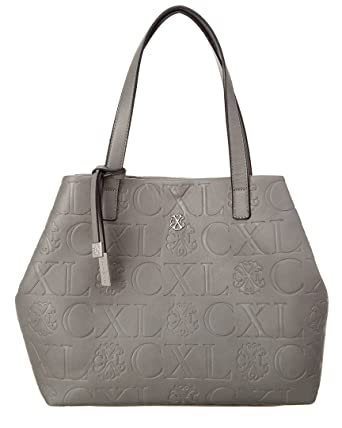 52a9a263230b Amazon.com: CXL by Christian Lacroix Coralie Embossed Tote, Caviar ...