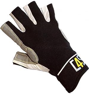 Bootsport Dry Fashion Leder Segelhandschuhe 5 Finger frei Wassersport Regatta Gloves