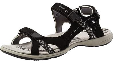 McKinley Damen Outdoor-Freizeit Sandale Trekking Sandale Bahamas W schwarz weiß, Größe:37