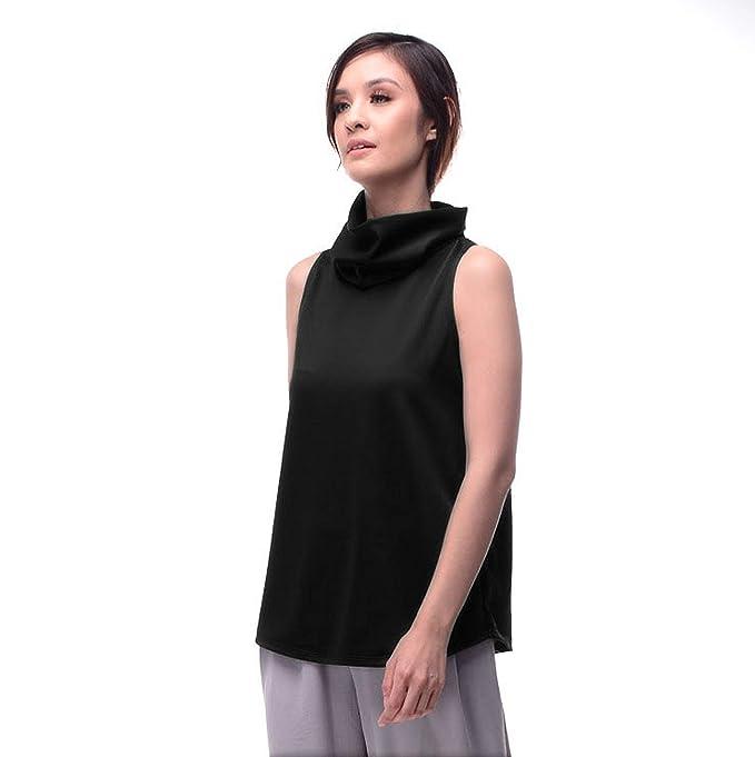 206e0122e75d7 Zouk Cowl Neck Sleeveless Top at Amazon Women s Clothing store