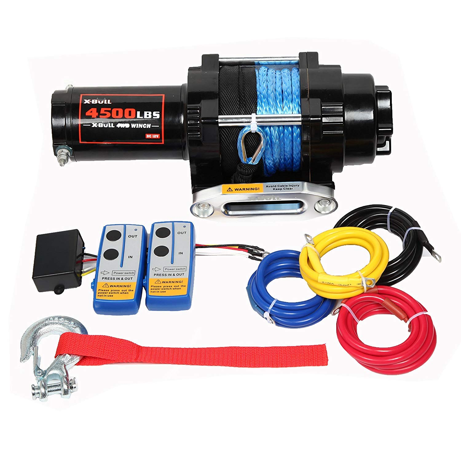Roller Fairlead /& 12 remote 3,000lb//1360 kg with mount plate 12 VDC winch Superwinch 1331200 UT3000