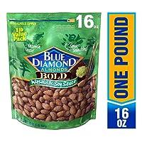 Deals on Blue Diamond Almonds, Bold Wasabi & Soy Sauce 16oz