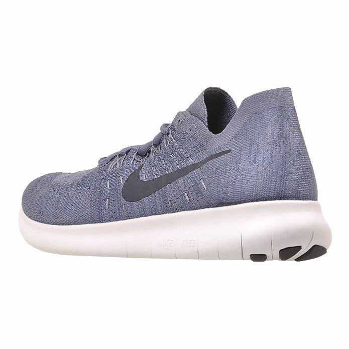 972dfe11d81e Nike Free RN Flyknit 2017 SZ 10 Mens Running Light Carbon Obsidian-Ocean Fog  Shoes  Amazon.in  Shoes   Handbags