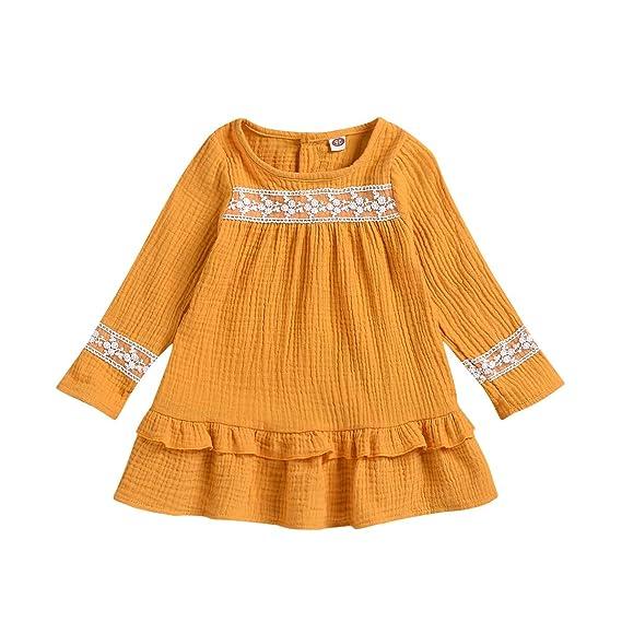 Vestidos para Bebés Niñas Bautizo Recién Nacida Otoño ...