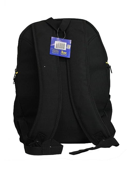 Amazon.com : FC Barcelona backpack school mochila bookbag cinch shoe bag official Messi 10 (Black) : Sports & Outdoors