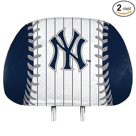Amazon.com   ProMark York Yankees Printed Full Color 2-Pack Head ... 6f9722cb7db