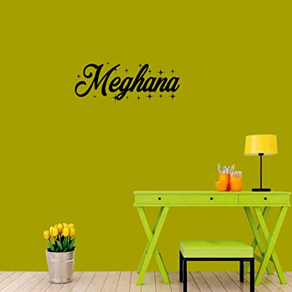 Mesleep personalized wall sticker for meghana