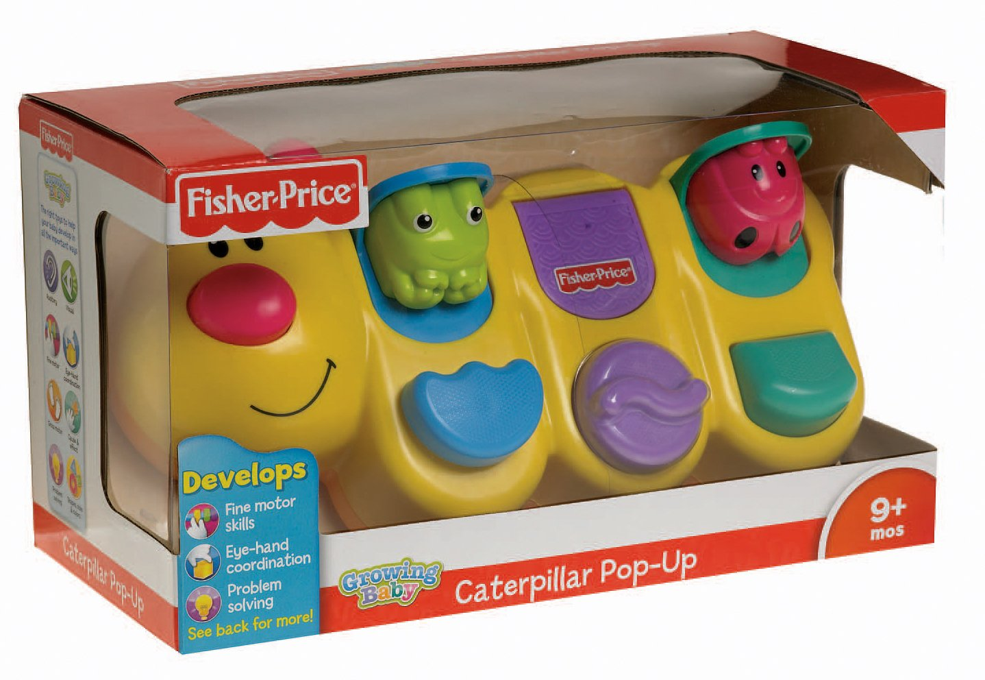 Fisher-Price Growing Baby Caterpillar Pop-Up