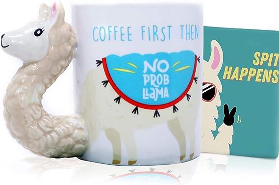 Llama Mug & Coaster Set