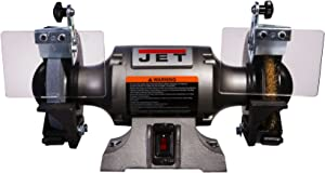 Jet 577126 Shop Grinder with Grinding Wheel & Wire Wheel